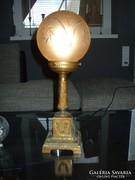 Empire bronz asztali lámpa