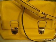 NEW LOOK női sárga táska nagyobb méretű