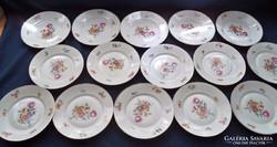 15 db. Rosenthal süteményes tányér