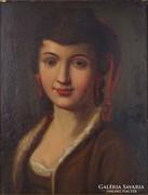 0M131 Jelzés nélkül : Női portré