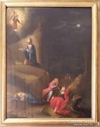 XVIII. sz.-i festő Krisztus az Olajfák hegyén