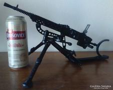 Cseh ZB VZ 37 géppuska fém makett wehrmacht