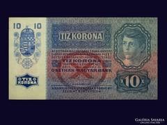 10 KORONA - GYÖNYÖRŰ...GYŰRŐDÉSMENTES 1915