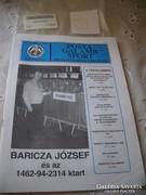 Antik újság eladó! Postagalambsport szövetség lapja 1999.