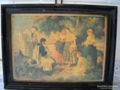 Antik festmény reprodukció  eladó!