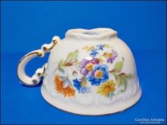 Zsolnai virágos csésze - pajzspecsétes