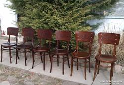 Dombór mintás Thonet székek 6db. Leárazva!!!