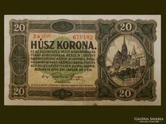 EGY SZÉP 20 KORONÁS 1920-BÓL