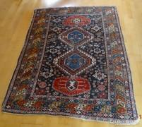 Antik kézi csomózású gyapjú szőnyeg