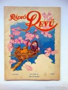 Rádió REVÜ1930május Régi Újság