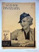 Rádió REVÜAZ ÚJ IDŐK LAPJA TAVASZ1935