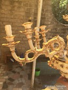 Eladó 6 ágú antik porcelán csillár
