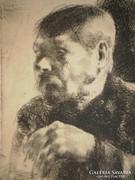 Barcsay Jenő (1900-1988) : Tanulmányfej