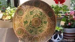 Antik fali tányér