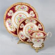Kuriózum! Royal Albert Lady Hamilton Angol teás/sütis 6 sz