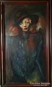 Marlene Dietrich portré