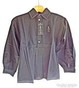 Hagyományőrző Turul márkájú L-es ing