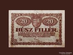 20 FILLÉR SZÉP ÁLLAPOTBAN - 1920-BÓL
