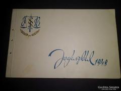 Jogászbál meghívó 1948