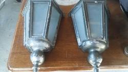 2 db régi fali lámpa!