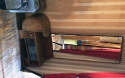 Art deco szobabútor, 4 részes, hagyatékból, egyben eladó
