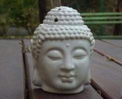 Buddha fej párologtató /FEHÉR/