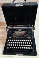 Eredeti antik Continental 350 írógép működik