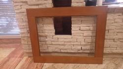Fa képkeret falc 74x55 cm