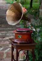 Gyönyörű működő gramofon