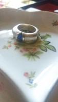 Kiárusitás!Ingyen posta!Különleges súlyos ezüst gyűrű
