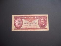 100 forint 1947 Kossuth címer !!!