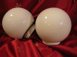Gömb tejüveg lámpabúra (2db.)