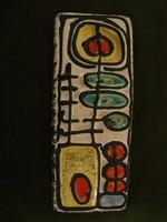Retró falikép kerámia