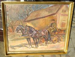 PIRK  JÁNOS eredeti festménye garanciával