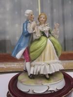 Barokk porcelán pár hibátlan
