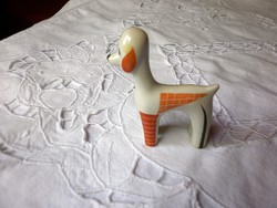 Nagyon ritka art deco kutyus Herendi gyűjtőknek