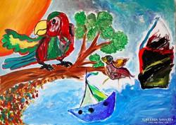 Kun Zsolt: Úton Macondóba (eredeti alkotás)