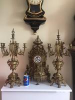 Hatalmas meretu rokokko stilusu bronz oraszett.
