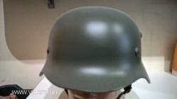 2. világháborús Német katonai sisak (REPRÓ)