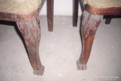 Bécsi barokk székek párban