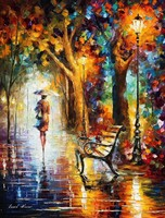 Leonid Afremov (1955-):The end of patience