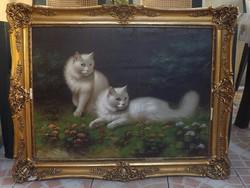 Antik festmény    gyönyörű
