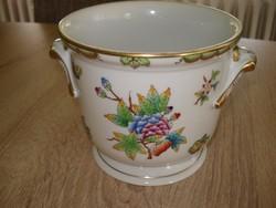 Herendi porcelán pillangó mintás kaspó