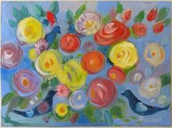 Pleidell János (1915-2007) festmény