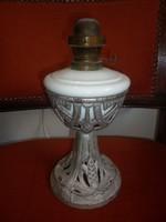 Antik asztali petróleum lámpa