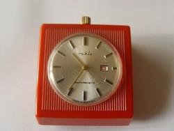 Érdekes mechanikus dátumos ruhla óra ritkaság