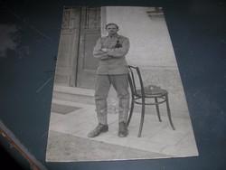 Első világháborús képeslapok /csoportkép/ Német Osztrák