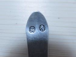 Antik 13 latos nagyváradi ezüst teáskanál