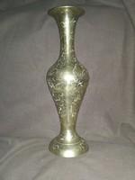 Réz váza 28 cm