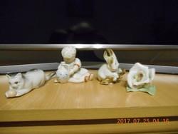 3 db Zsolnay Porcelán Termék + 1 db  Aquincum